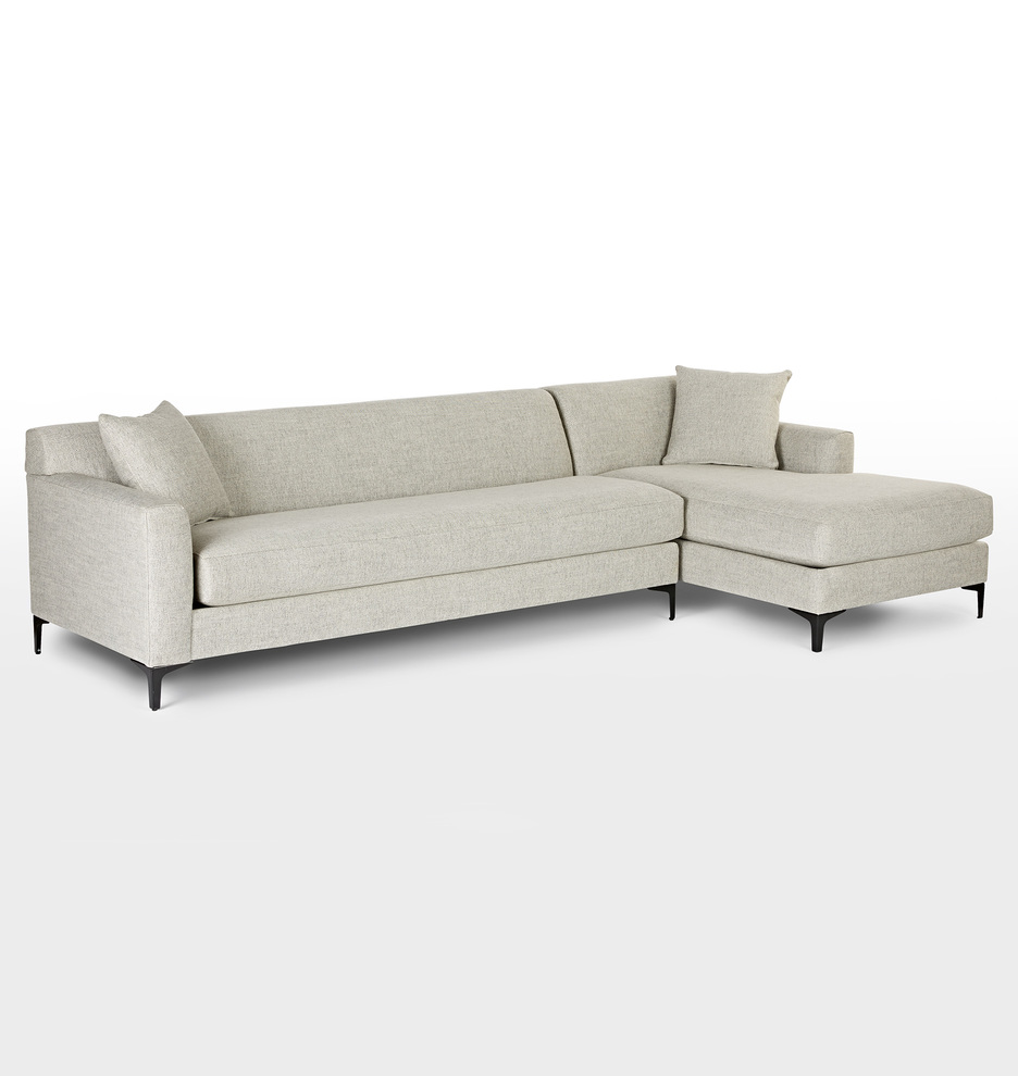 Hawthorne Sectional Sofa - Chaise Right | Rejuvenation