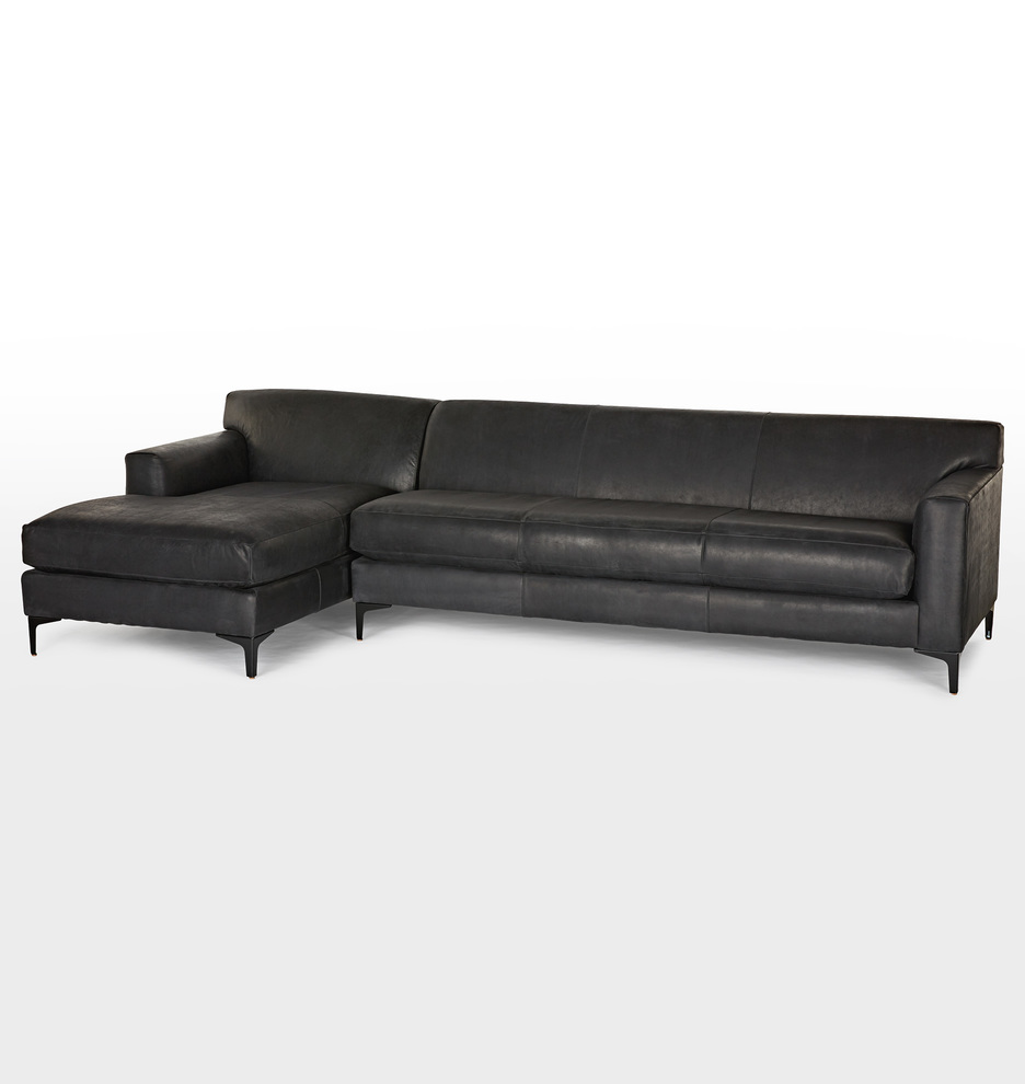 sc 1 st  Rejuvenation : leather sectional sofas with chaise - Sectionals, Sofas & Couches
