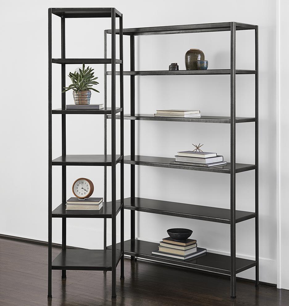 holman metal bookcase rejuvenation. Black Bedroom Furniture Sets. Home Design Ideas