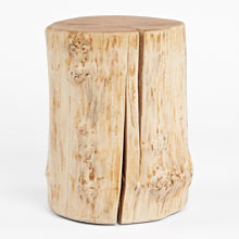 Oregon Maple Stump Side Table