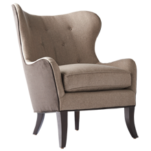 Wingback Chair - Simon Pebble