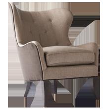 Wingback Chair - Simon Pebble