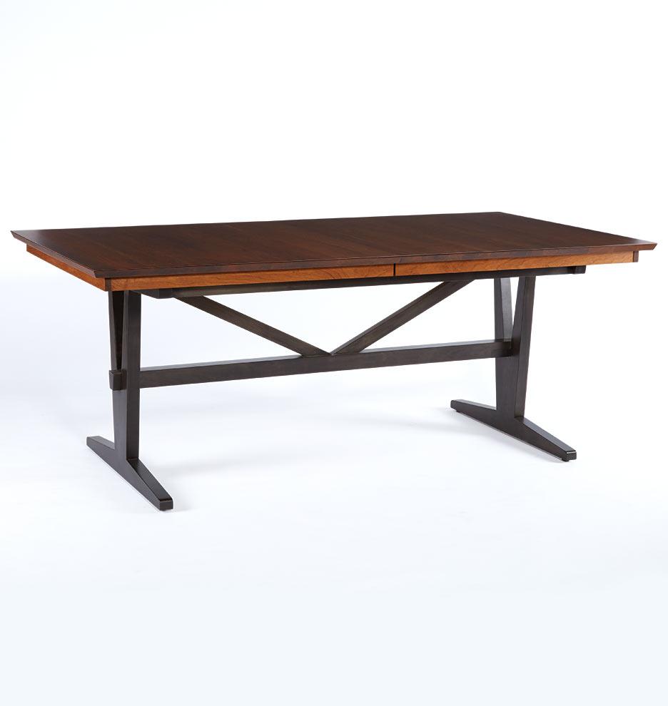 Rectangular Extendable Dining Table: Cascade Rectangle Extendable Dining Table