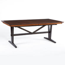 Cascade Rectangle Extendable Dining Table
