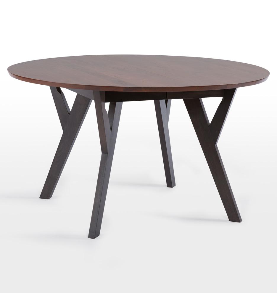 Cascade Round Extendable Table