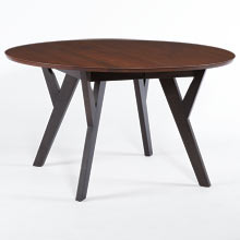 Cascade Round Extendable Dining Table