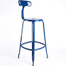 Nicolle Bar Stool with Back