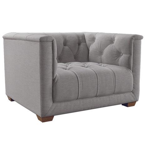 Ellis chair fabric feltflannel d4530