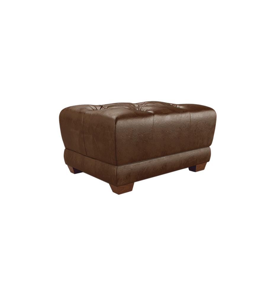 Ellis ottoman leather bromptonmocha d4534