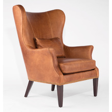 Clinton Modern Wingback Chair