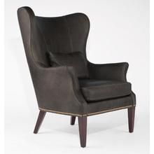 Clinton Modern Wingback Chair
