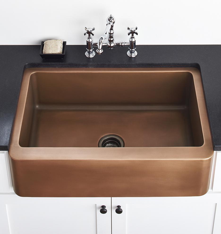 Kitchen Sink Drain Antique Copper Rejuvenation