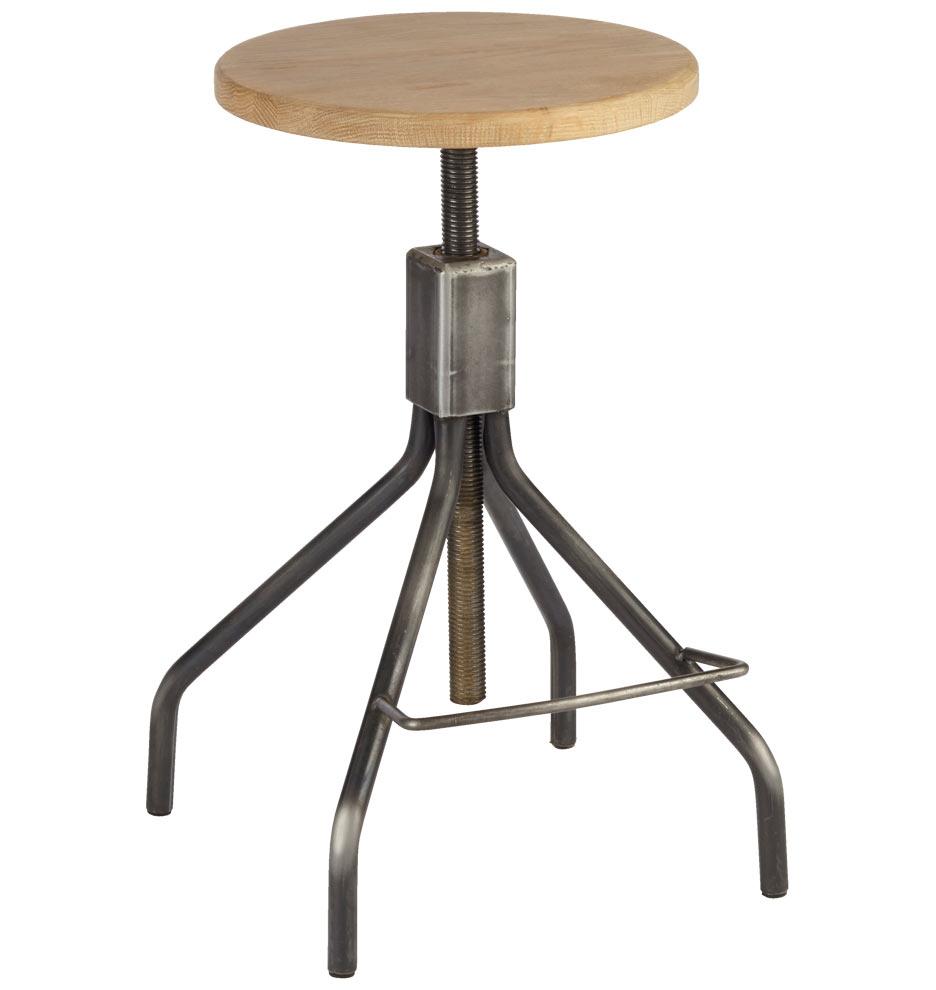 industrial adjustable stool  rejuvenation -