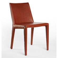 Huber Italian Leather Chair