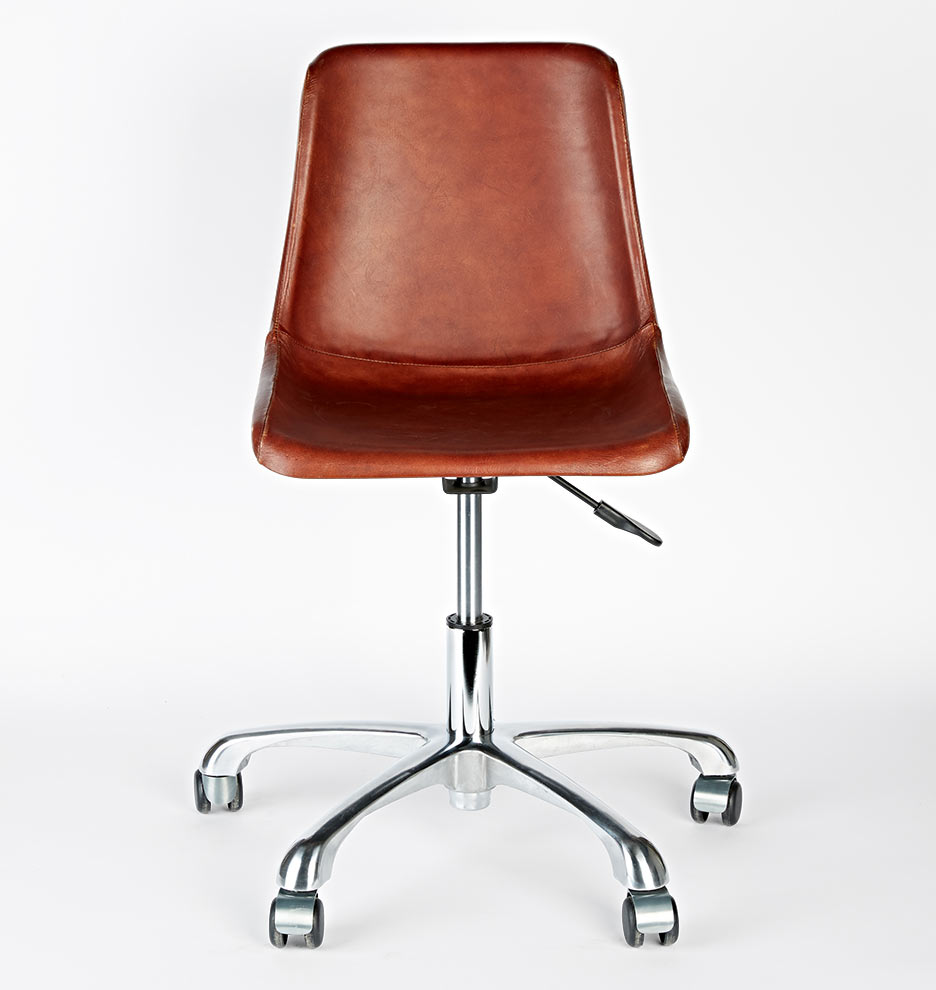 Tan leather office chair - Tan Leather Office Chair 23