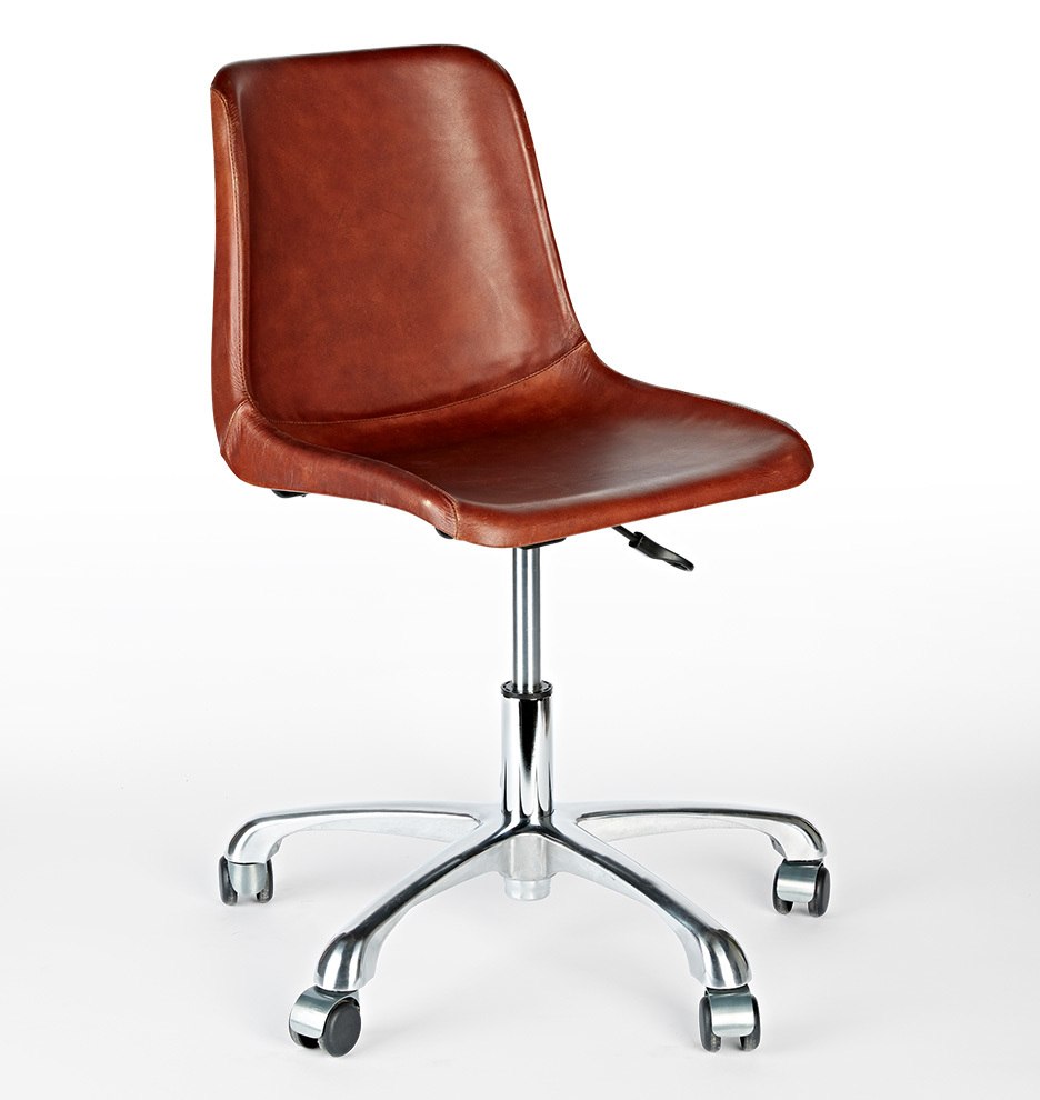 bond leather desk chair | rejuvenation