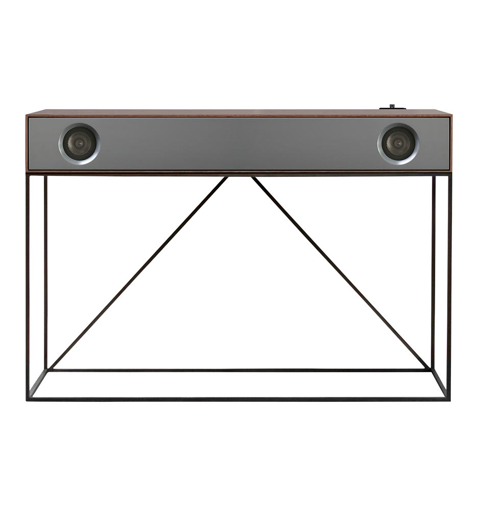D8354 stereoconsole walnutgrey d8354