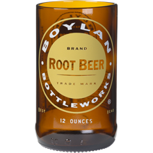 Root Beer Bottle Glass