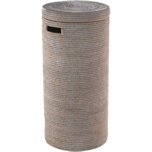Tall Rattan Hamper