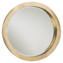 Large Mango Wood Mirror