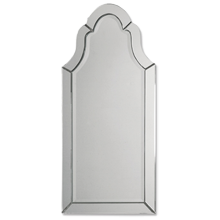 Frameless Arch Mirror