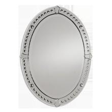 Venetian-Style Oval Mirror