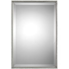 Beaded Rectangle Mirror