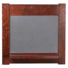 Dard Hunter Oak-Framed Chalkboard