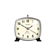 Black Toledo Alarm Clock