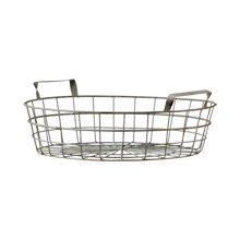 Large Shallow Wire Basket