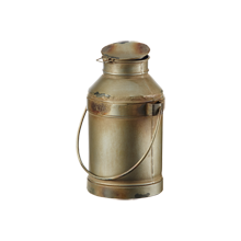 Small Metal Milk Can