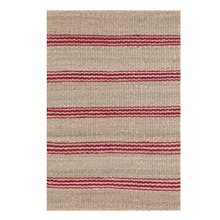 Jute Ticking Stripe Rug