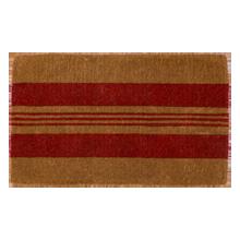 Red Horizontal Stripe Doormat