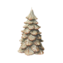Small Holiday Tree Candle