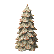 Large Holiday Tree Candle