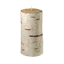 "3 x 6"" Holiday Birch Pillar"