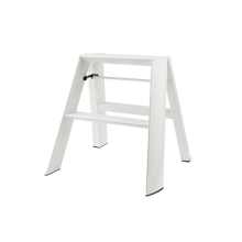 Lucano 2-Step Stepladder - White