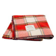 Woolrich Soft Cherry Red Fawn Grove Blanket