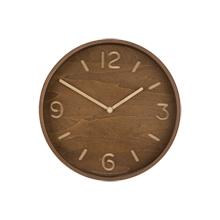 Lemnos Thompson Wood Clock