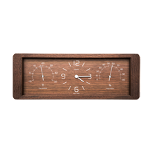 Lemnos Yokan Desktop Wood Clock