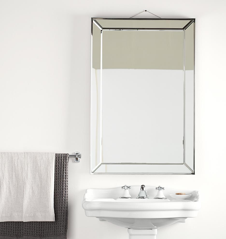 Williams sonoma home five panel beveled mirror - E0823 081215 01 E0823 150724 Y15b07 Rowland Colonial Bath Bright 0917 M