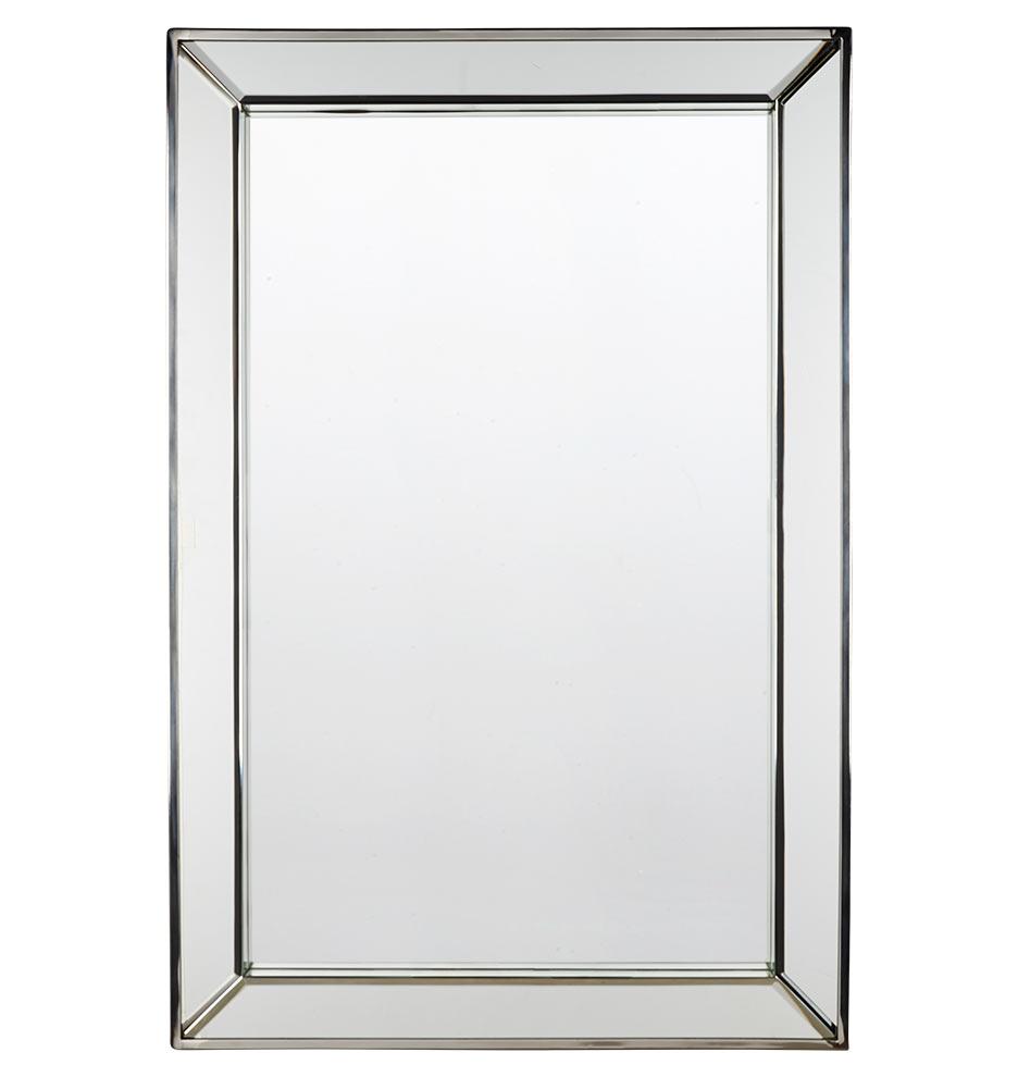 Bath Bathroom Mirrors Beveled Frame Mirror