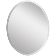 Frameless Oval Mirror, Large