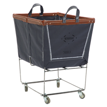 Large Steele Canvas Laundry Bin - Gray