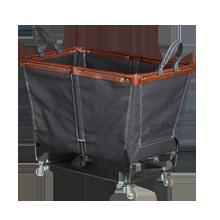 Medium Steele Canvas Laundry Bin - Gray