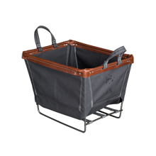 Small Steele Canvas Laundry Bin - Gray