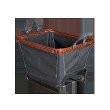 Small Steele Canvas Laundry Bin - Gray