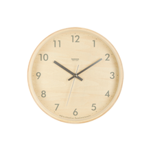 Plywood Lemnos Clock