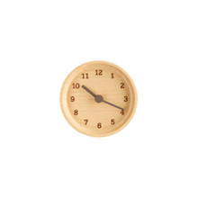 Muku Beechwood Lemnos Clock