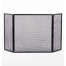 Tri-Fold Fireplace Screen - Large